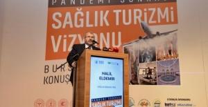 """Sağlık Bakan Yardımcı Eldemir Pandemi Sonrası Türkiye Sağlık Turizmi Vizyonu Paneli""""nde konuştu"""