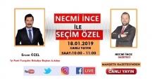 Ercan Özel SEÇİM ÖZEL'e Konuk Olacak