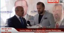 Ahmet Korkmaz SEÇİM ÖZEL'e Konuştu