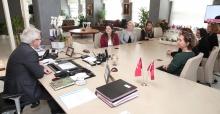 CHP NİLÜFER KADIN KOLLARI'NDAN ERDEM'E ZİYARET