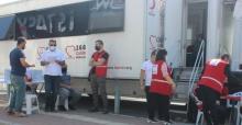 Bursa'da kan bağış kapsamında destek sürüyor