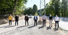 Suuçtu Tabiat Parkı'nın  yolları güzelleşiyor