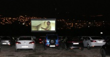 Nilüfer'de arabalı sinema final yaptı