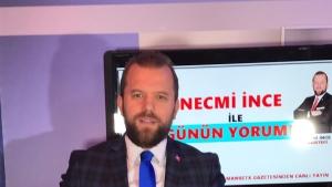 NECMİ İNCE İLE GÜNÜN YORUMU   Ak Parti Bursa'da istifa eden ilçe başkanlarıyla ilgili değerlendirmede bulundu. 03.12.2018