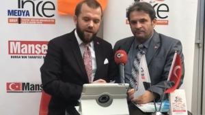 NECMİ İNCE İle SEÇİM ÖZEL  Osmangazi Belediye Başkan Aday ADAYI Mehmet Girgin konuk oldu.
