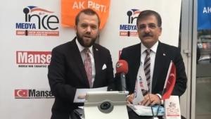 NECMİ İNCE İle Seçim Özel Konuğumuz Bursa Büyükşehir Belediye Başkan Aday Adayı Sn.Sedat Yalcın konuk oldu.